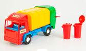 Mini truck - игрушечный мусоровоз (красная кабина), Wader , красная кабина от Wader