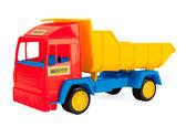 Mini truck - игрушечный самосвал (красная кабина), Wader , красная кабина от Wader