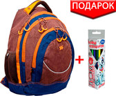 Рюкзак подростковый T-14 University (21 л), YES от YES