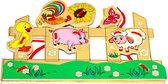 Шнуровка Домашние животные, Мир деревянных игрушек от Мир деревянных игрушек