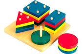 Логический квадрат, Мир деревянных игрушек от Мир деревянных игрушек