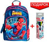 Рюкзак школьный Spider Man 3 синий, 1 Вересня от 1 Вересня
