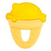 Зубное кольцо охлаждаемое с водой, Мороженое, 4 м +, Chicco, желт. от Chicco(Чико)
