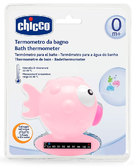 Игрушка-термометр для измерения температуры воды в ванне Рыбка (розовый), Chicco от Chicco(Чико)