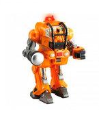 Робот-трансформер М.А.R.S. в броне (оранжевый), Hap-p-kid , оранж.