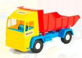 Mini truck - игрушечный самосвал (желтая кабина), Wader , желт. кабина от Wader