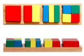 Дроби малые 2 квадрат, Мир деревянных игрушек от Мир деревянных игрушек