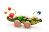 Лабиринт-каталка Крокодил, Мир деревянных игрушек от Мир деревянных игрушек