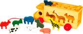 Машина и звери, Мир деревянных игрушек от Мир деревянных игрушек