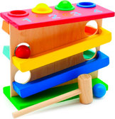 Горка-шарики - большая, Мир деревянных игрушек от Мир деревянных игрушек