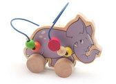 Лабиринт-каталка Слон, Мир деревянных игрушек от Мир деревянных игрушек