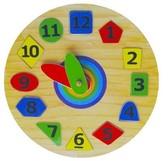 Часы Геометрия 2, Мир деревянных игрушек от Мир деревянных игрушек