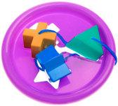 Логическое кольцо фиолетовое - развивающая игрушка-сортер, 5 элементов, Тигрес, фиолетовый от Тигрес