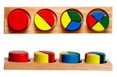 Дроби малые 1 круг, Мир деревянных игрушек от Мир деревянных игрушек