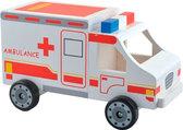 Машинка Скорая помощь, Мир деревянных игрушек от Мир деревянных игрушек