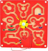 Лабиринт с шариками-фигуры, Мир деревянных игрушек от Мир деревянных игрушек