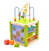 Куб универсальный 5 игр, Мир деревянных игрушек от Мир деревянных игрушек