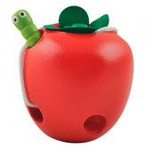 Шнуровка яблоко, Мир деревянных игрушек от Мир деревянных игрушек