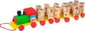 Паровозик алфавит, Мир деревянных игрушек от Мир деревянных игрушек