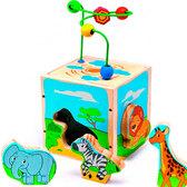 Куб Сафари, Мир деревянных игрушек от Мир деревянных игрушек