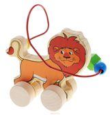 Лабиринт-каталка Лев, Мир деревянных игрушек от Мир деревянных игрушек