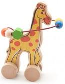 Лабиринт-каталка Жираф, Мир деревянных игрушек от Мир деревянных игрушек