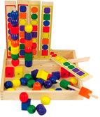 Набор Изучаем цвета и формы, Мир деревянных игрушек от Мир деревянных игрушек