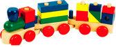 Конструктор-паровозик, Мир Деревянных Игрушек от Мир деревянных игрушек