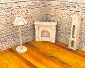 Часы и лампа, Мир деревянных игрушек от Мир деревянных игрушек