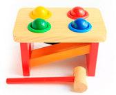Стучалка-горка-шарики, Мир деревянных игрушек от Мир деревянных игрушек