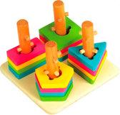 Логический квадрат малый, Мир деревянных игрушек от Мир деревянных игрушек