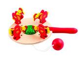 Курочки и зернышки цветная, Мир деревянных игрушек от Мир деревянных игрушек