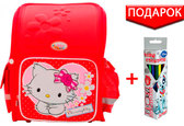 Ранец школьный Charmmy Kitty красный, 1 Вересня от 1 Вересня