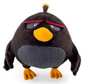 Энгри Бердз: мягкая игрушка Бомб (20 см), Angry Birds, Бомб (черный)