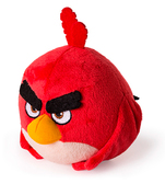 Энгри Бердз: мягкая игрушка Ред (13 см), Angry Birds, Ред (красный)
