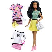 Набор Barbie Модница с одеждой, брюнетка, Barbie, Mattel, брюнетка 34 от Barbie (Барби)