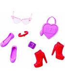 Стильные аксессуары для Барби 2, Barbie, Mattel, розов. с сердечком от Barbie (Барби)