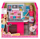 Роскошный интерьер - кухня. Barbie. Mattel, кухня от Barbie (Барби)