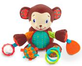 Плюшевая развивающая игрушка Обезьянка, Bright Starts, обезьяна от Bright Starts (Брайт Старс)