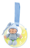 Игрушка музыкальная на кроватку Good night Moon голубая, Сhicco от Chicco(Чико)