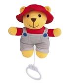 Музыкальная плюшевая игрушка-подвеска Мишка фермер, Canpol babies, мишка, фермер от Canpol babies