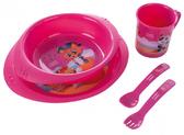 Набор посуды пластиковый Пираты, малиновый, Canpol babies, панда от Canpol babies