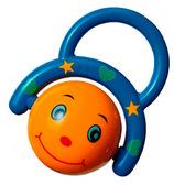 Погремушка Бурлящий шар, Canpol babies, синий, оранжевый от Canpol babies