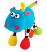 Игрушка-подвеска мягкая Бегемот, Веселые зверята, Canpol babies, бегемот от Canpol babies