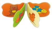 Игрушка-книжка мягкая пищалка Животные, Canpol babies от Canpol babies