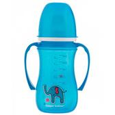 Поильник непроливайка голубой Цветные зверюшки EasyStart, 240 мл, Canpol babies, синяя, слон от Canpol babies