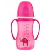 Поильник непроливайка розовый Цветные зверюшки EasyStart, 240 мл, Canpol babies, малиновая, слон от Canpol babies