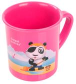 Чашка пластиковая Пираты с пандой (200 мл) розовая, Canpol babies, розовая, панда от Canpol babies