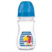 Антиколиковая бутылочка с широким горлышком EasyStart Пираты 240 мл, попугай, Canpol babies, синий, попугай от Canpol babies
