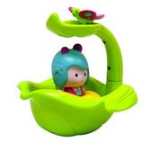 Интерактивная игрушка - МИМИ И ВОЛШЕБНАЯ ЛОДКА-ЛИСТОК (для игры в ванной) от Ouaps